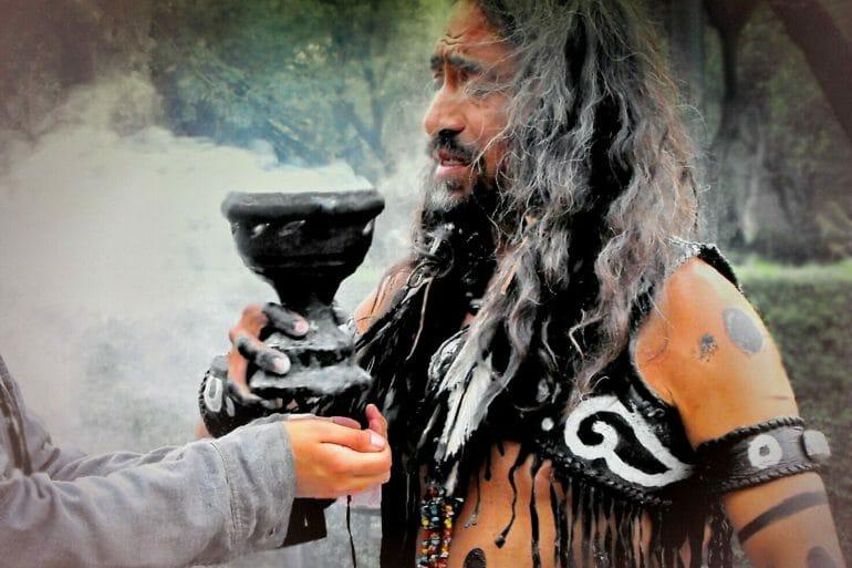 maya shaman blessing mexico video