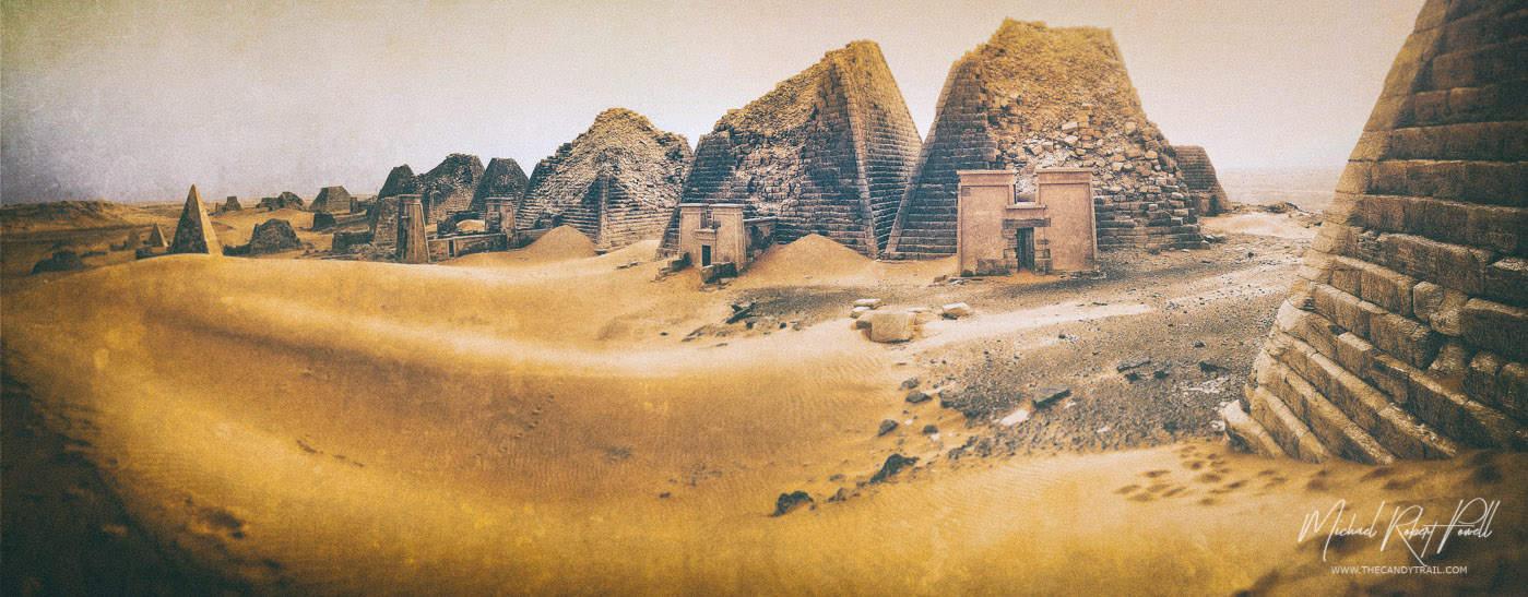 pyramids-of-sudan-in-sand-art-by-michael-robert-powell