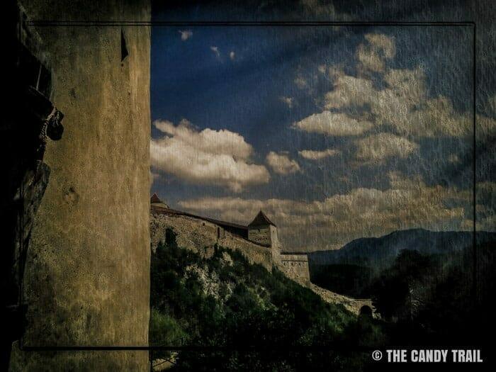 rasnov castle romania Transylvania