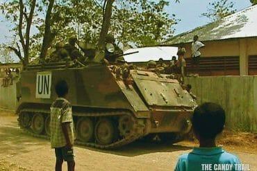 UN APC Maliana East Timor