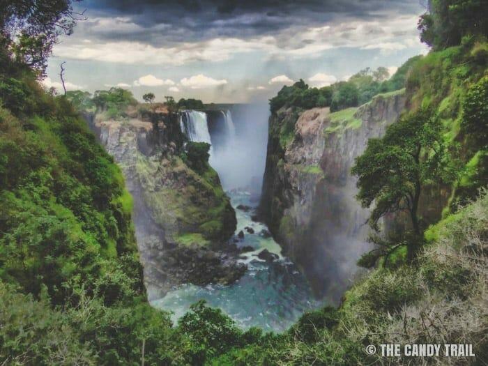 victoria falls canyon zimbabwe