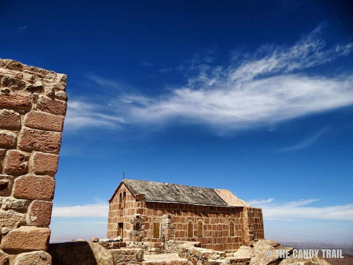 chapel on summit of Mount Sinai