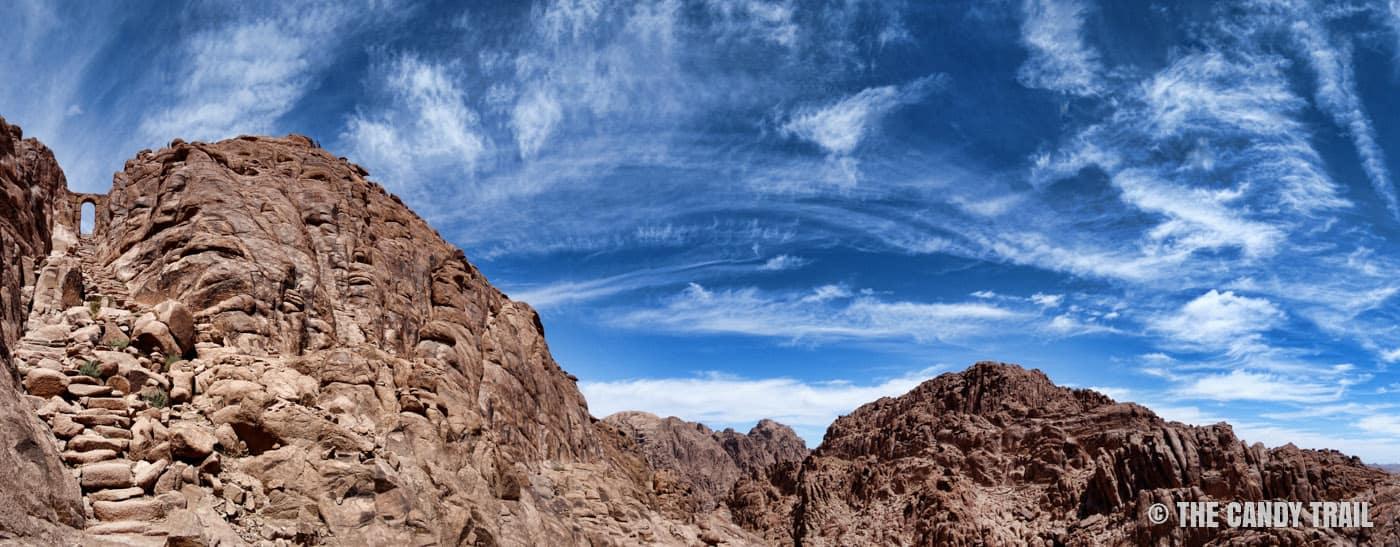 hiking mount sinai egypt