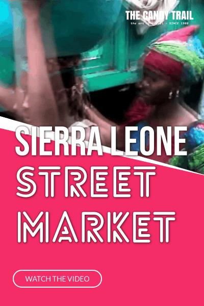Freetown Market Sierra Leone Video