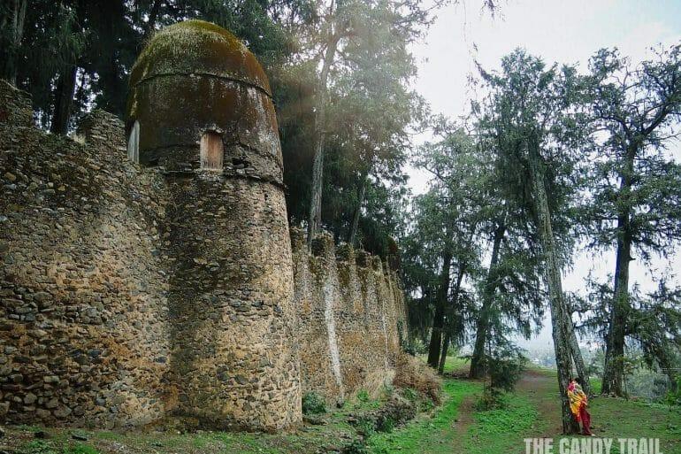 castles of gondar ethiopia