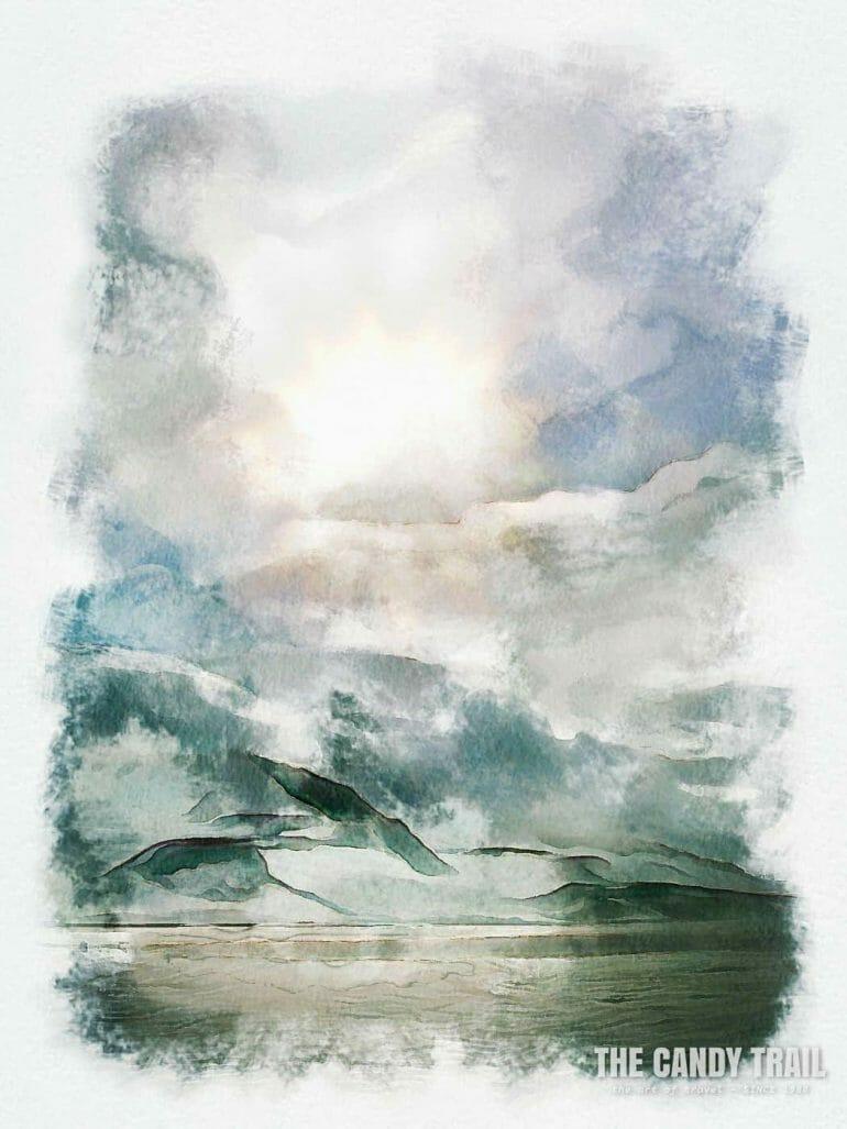 antarctica-mountain-ocean-sky