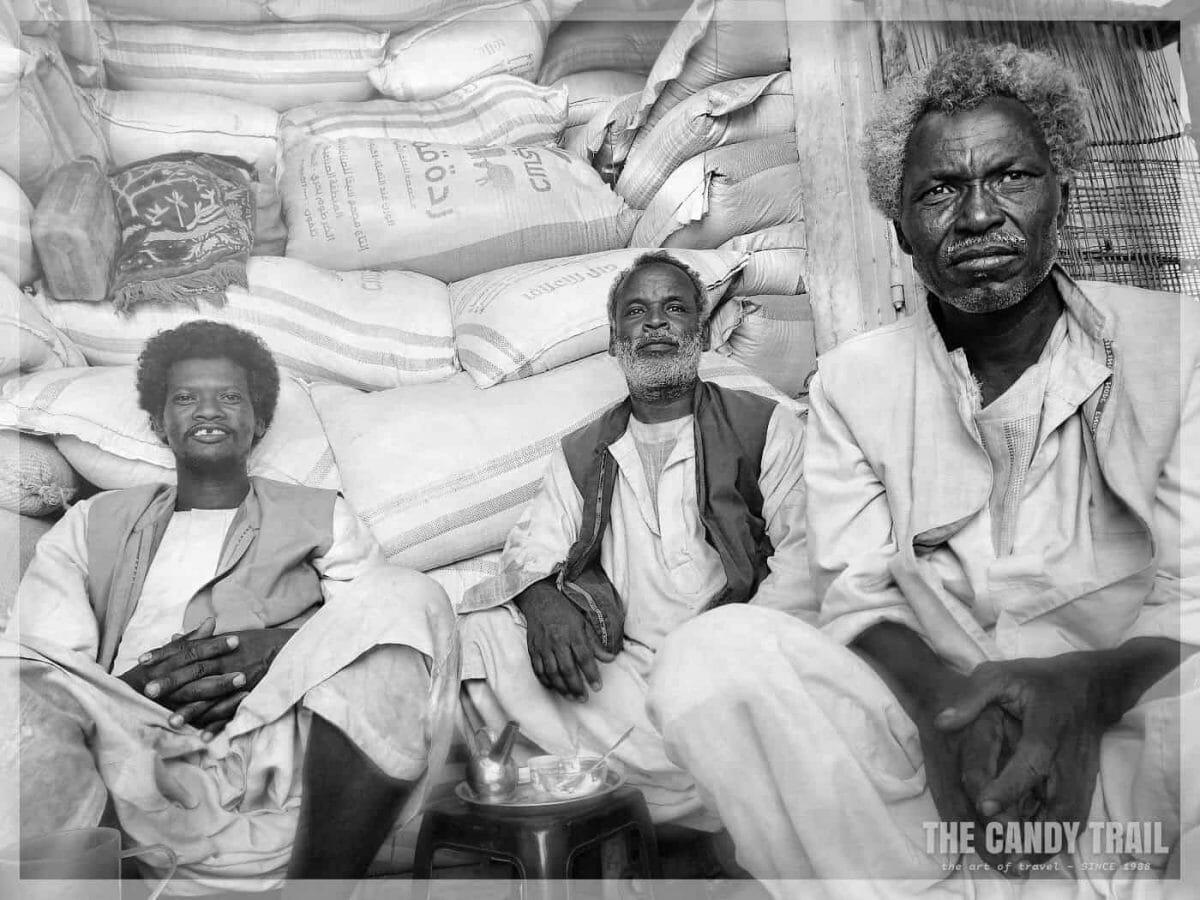 beja tribesmen kassala market sudan