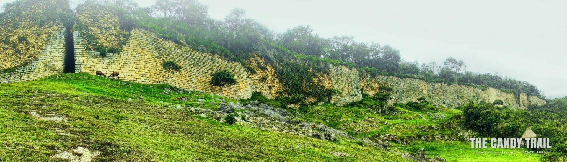 kuelap ruins panorama chachapoyas peru