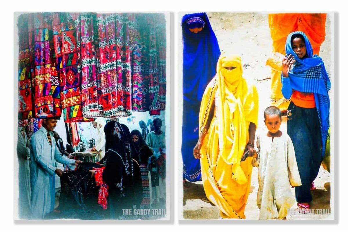 women at kassala market in sudan