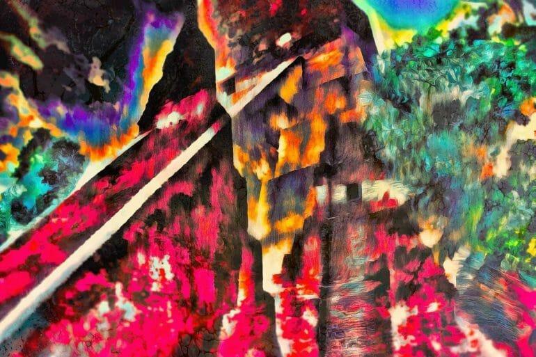 temples collide tikal