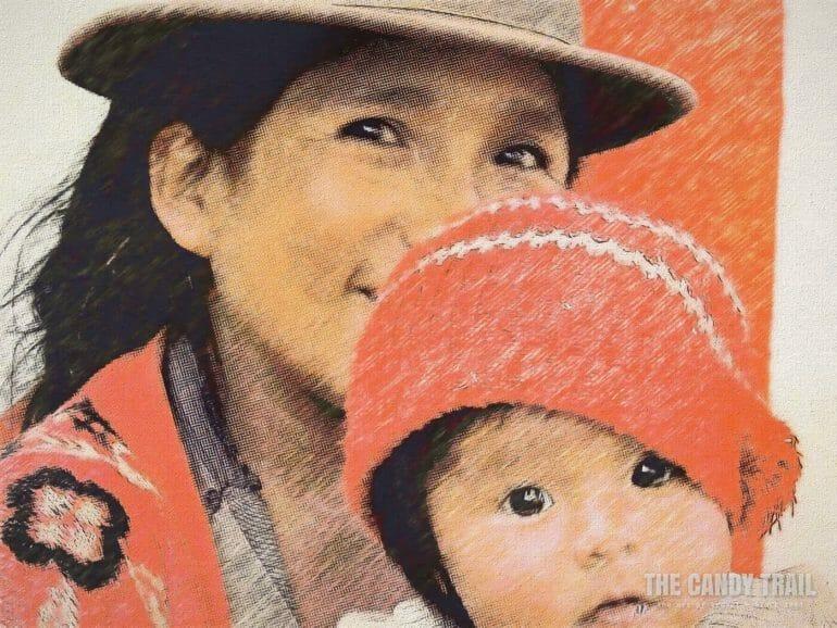 bolivia woman + child