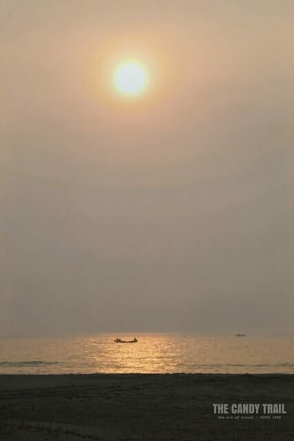 Sun Rise Golden Beach China