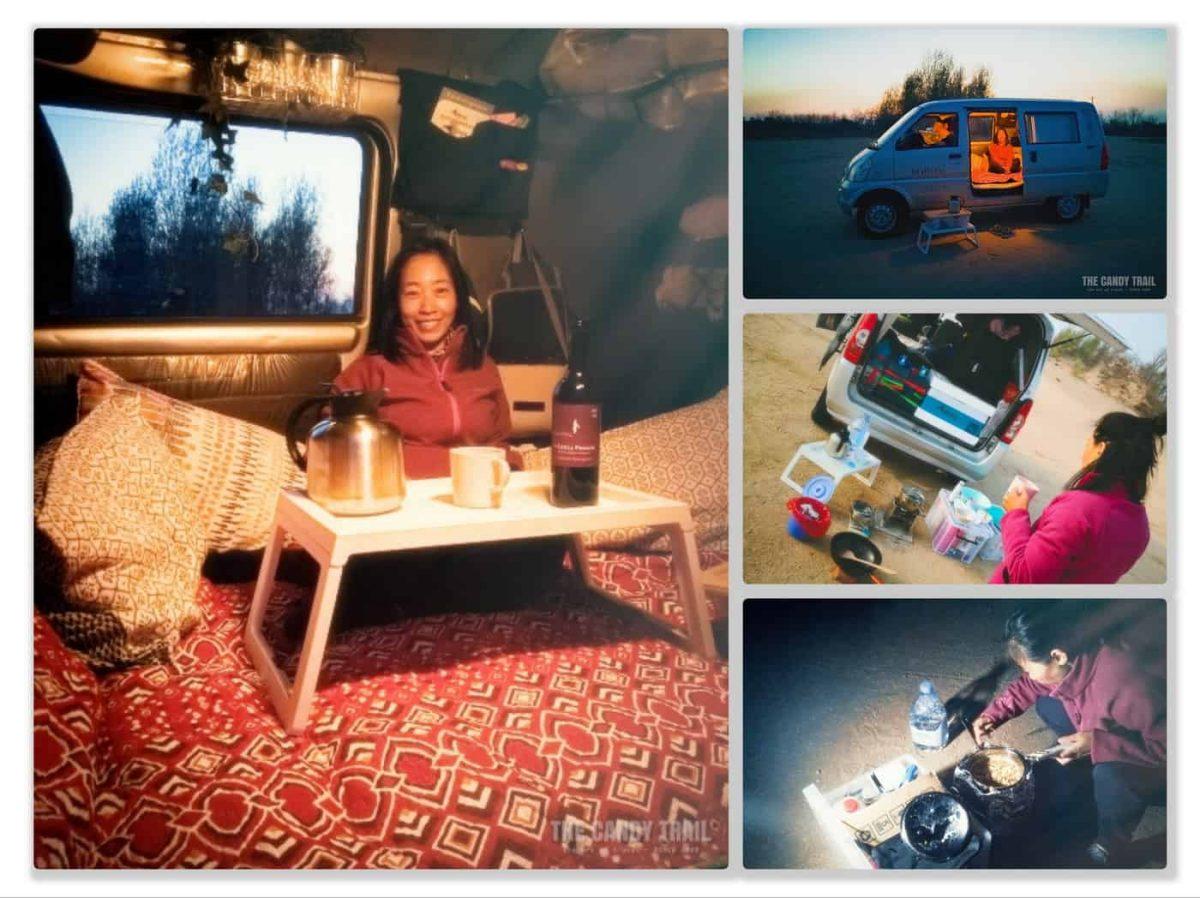 Van Life Camping China