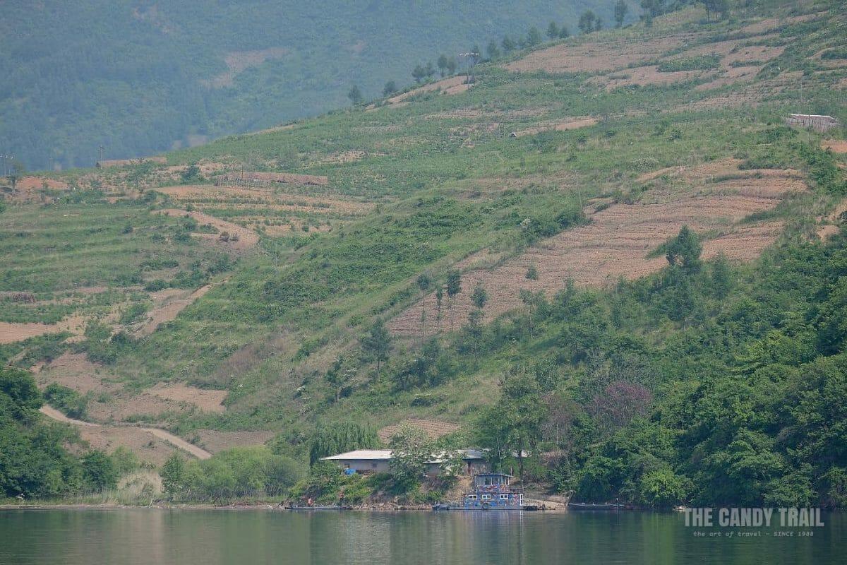 North Korea Watchtower Yalu River