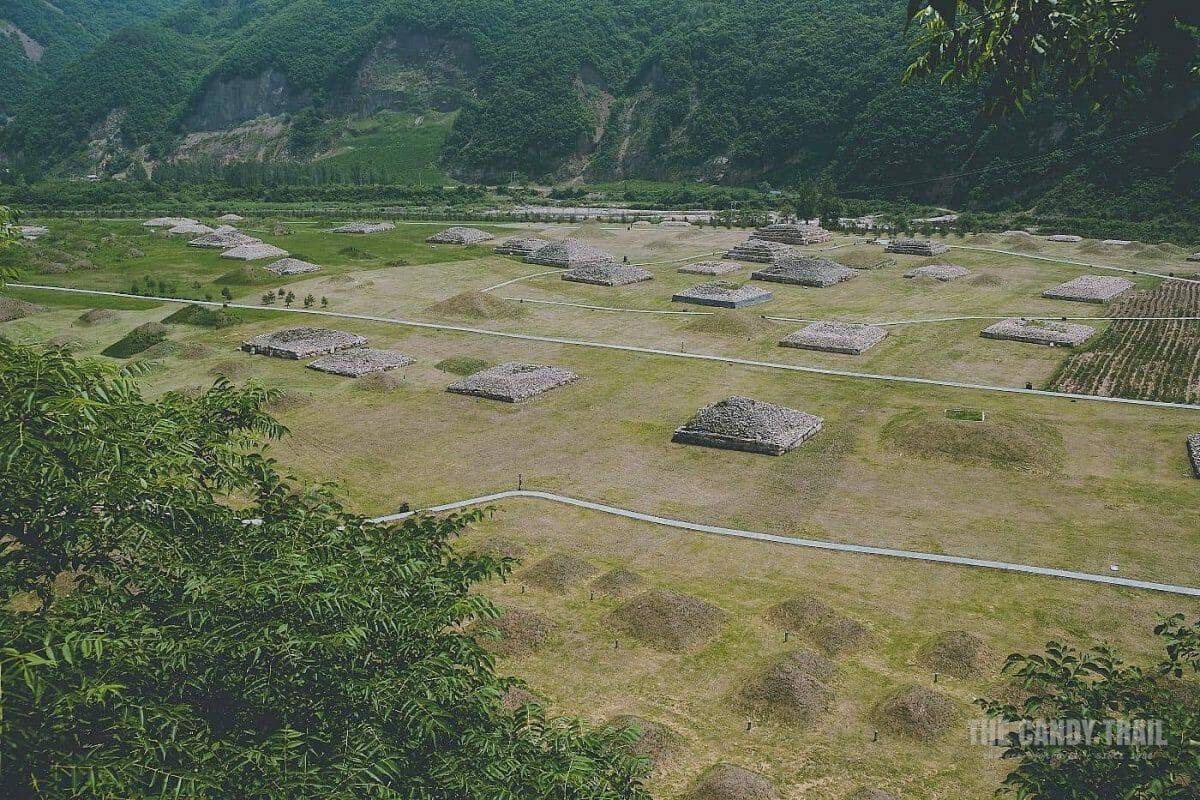 Koguryo Kingdom Pyramid Tombs Of Nobles Wandu China