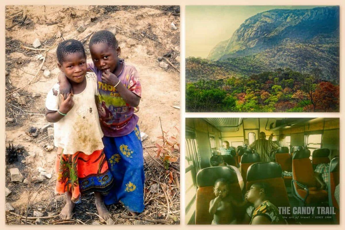 Train Journey Cuamba To Nampula Mozambique