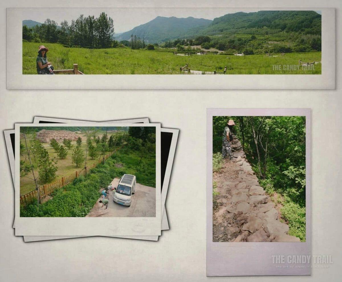 Wandu City Ruins China