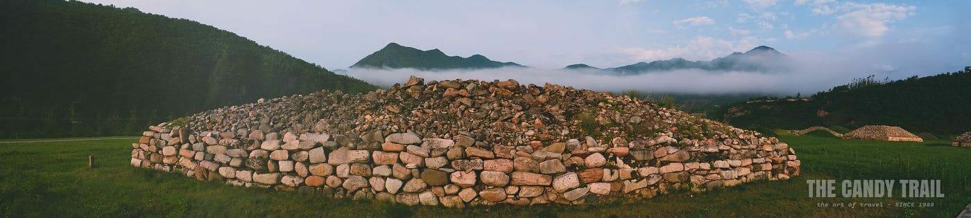 Wandu Ruins Tomb Of Nobles Panorama China