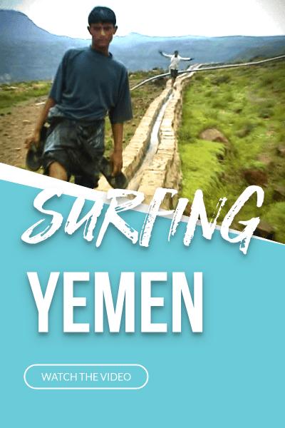 Boys Surfing Yemen Video