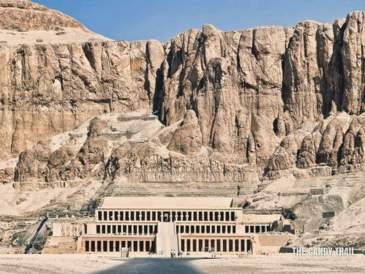 Temple Of Hatshepsut At Deir Al Bahri West Bank Of Luxor