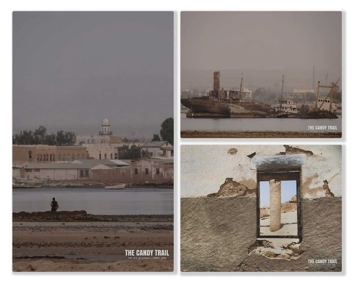 Berbera Somaliland Scenes Collage