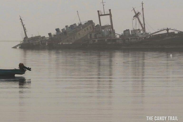 Wrecked Ships Berbera Somaliland