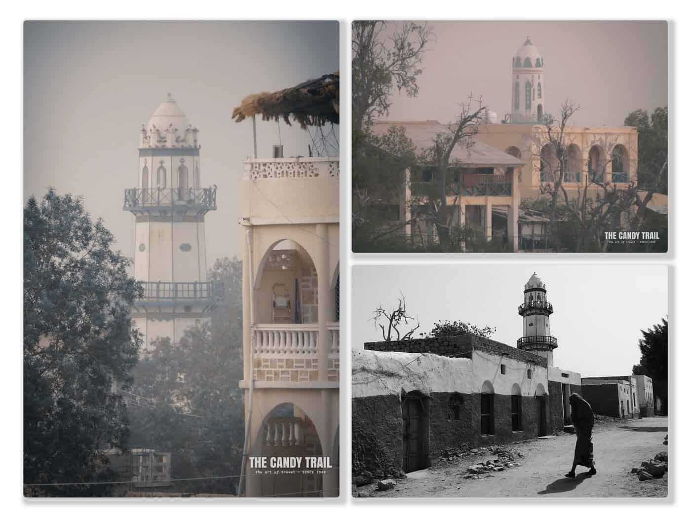 history of berbera - mosques in old town of Somaliland port city.