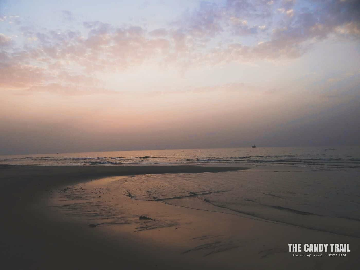 Read Sea sunset Berbera beach in Somaliland