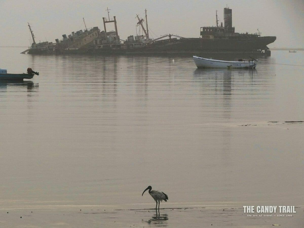 Ship Wrecks old port of Berbera Somaliland