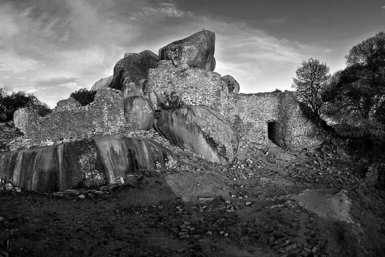 Great Zimbabwe Hill Top Ruins Panorama