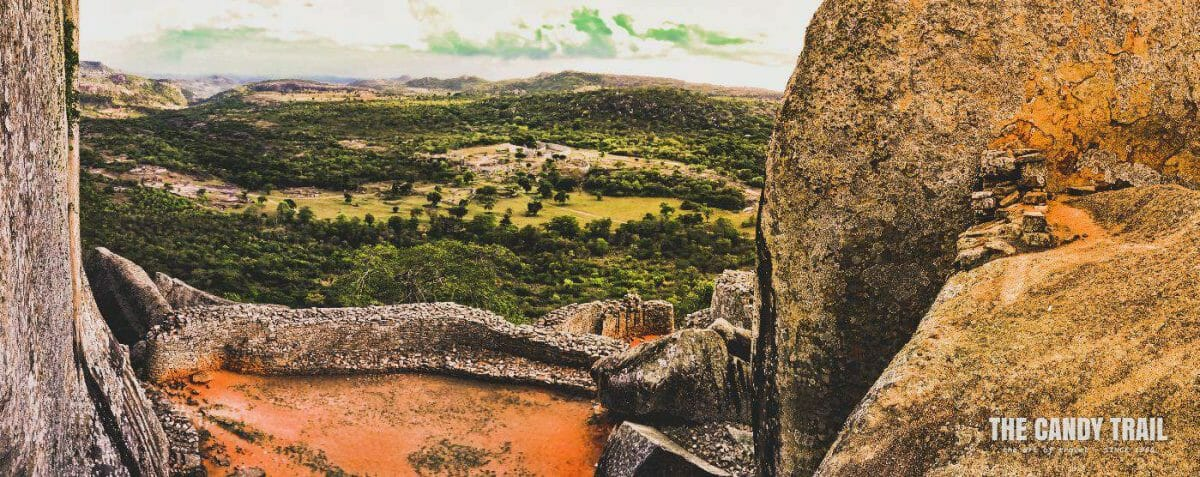 Great Zimbabwe Ruins Hill Top Vista