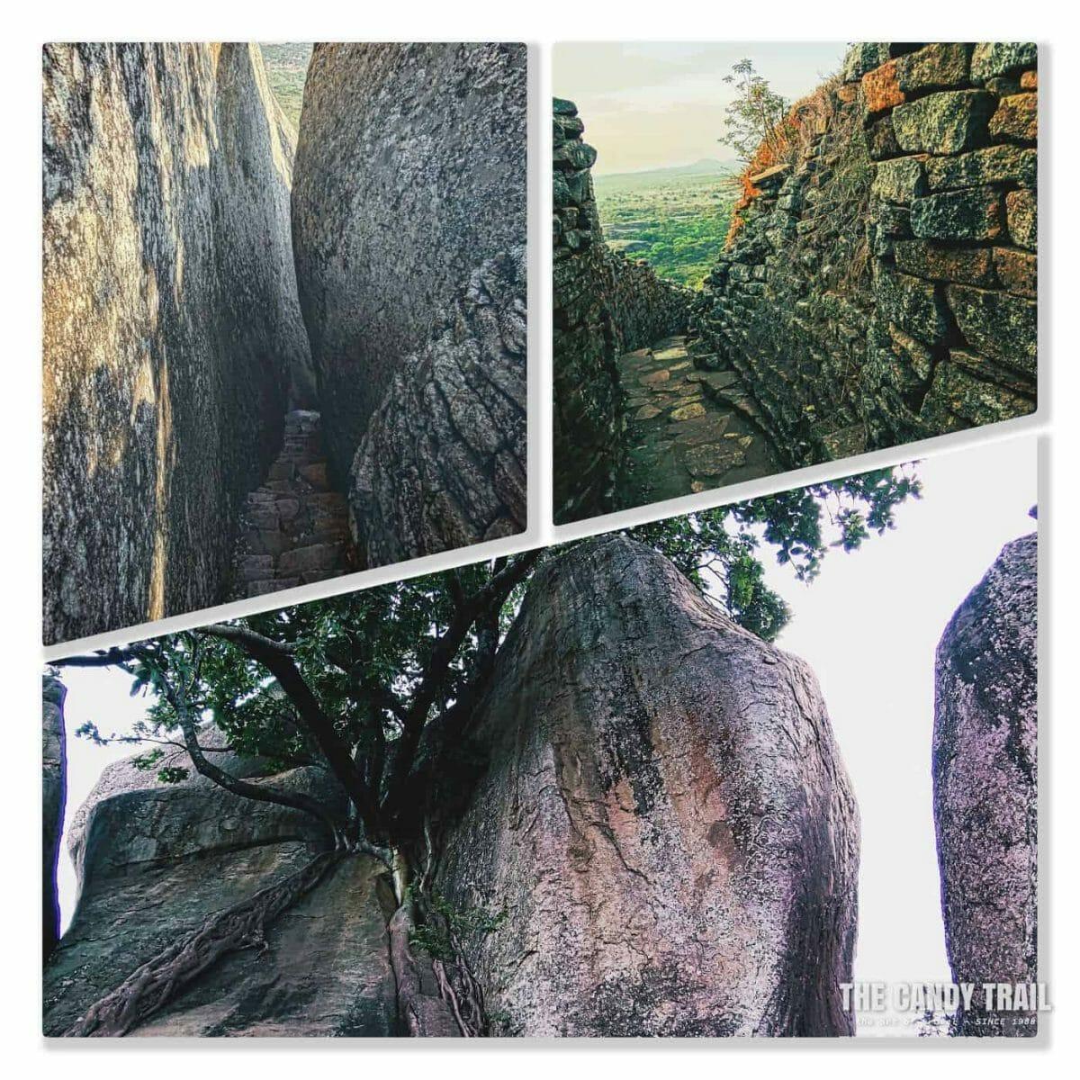 Narrow Cliff Paths Great Zimbabwe Ruins