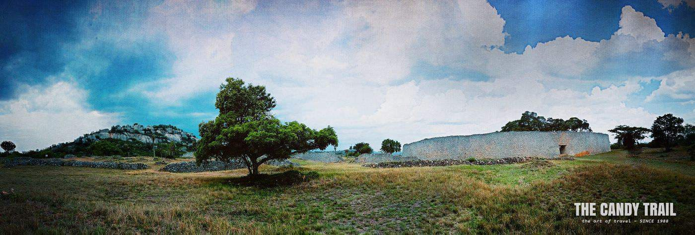 Ruins Of Great Zimbabwe Moody Panorama