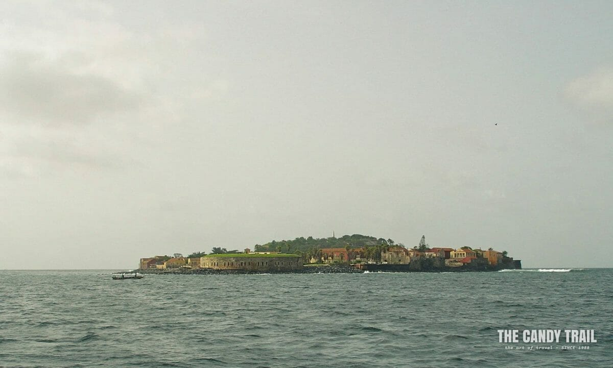 Approaching Goree Island from Dakar