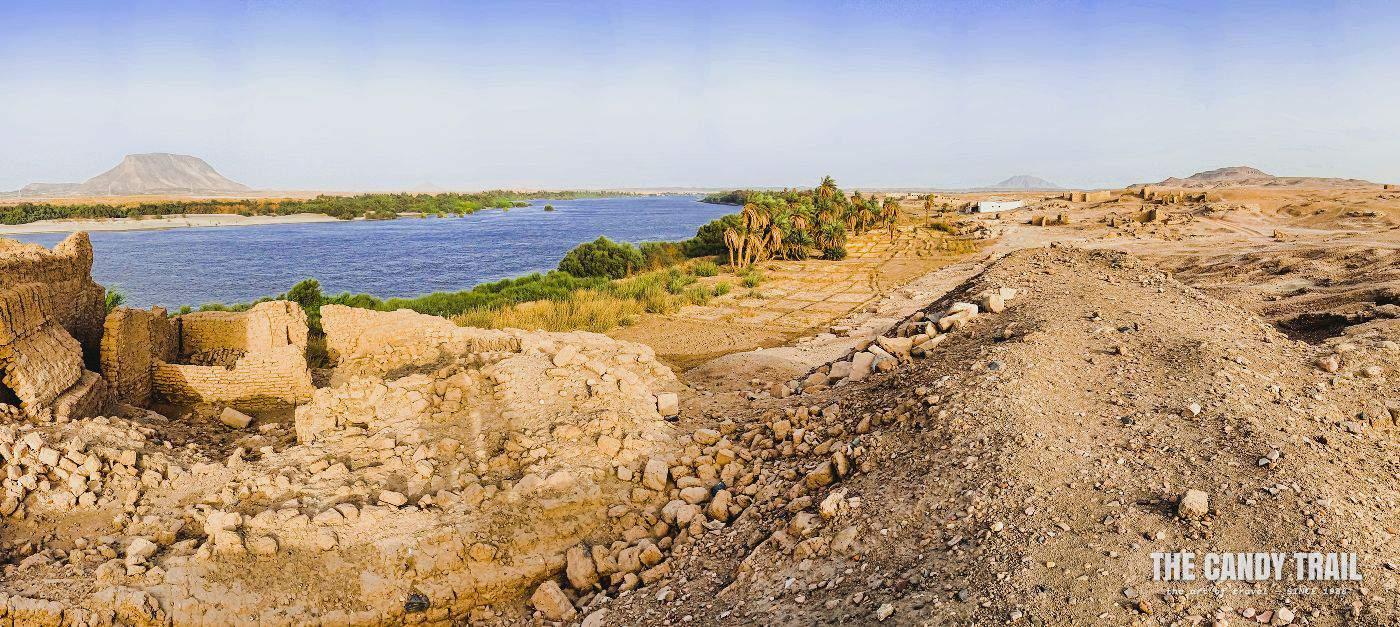 sai-island-ruins nile river sudan