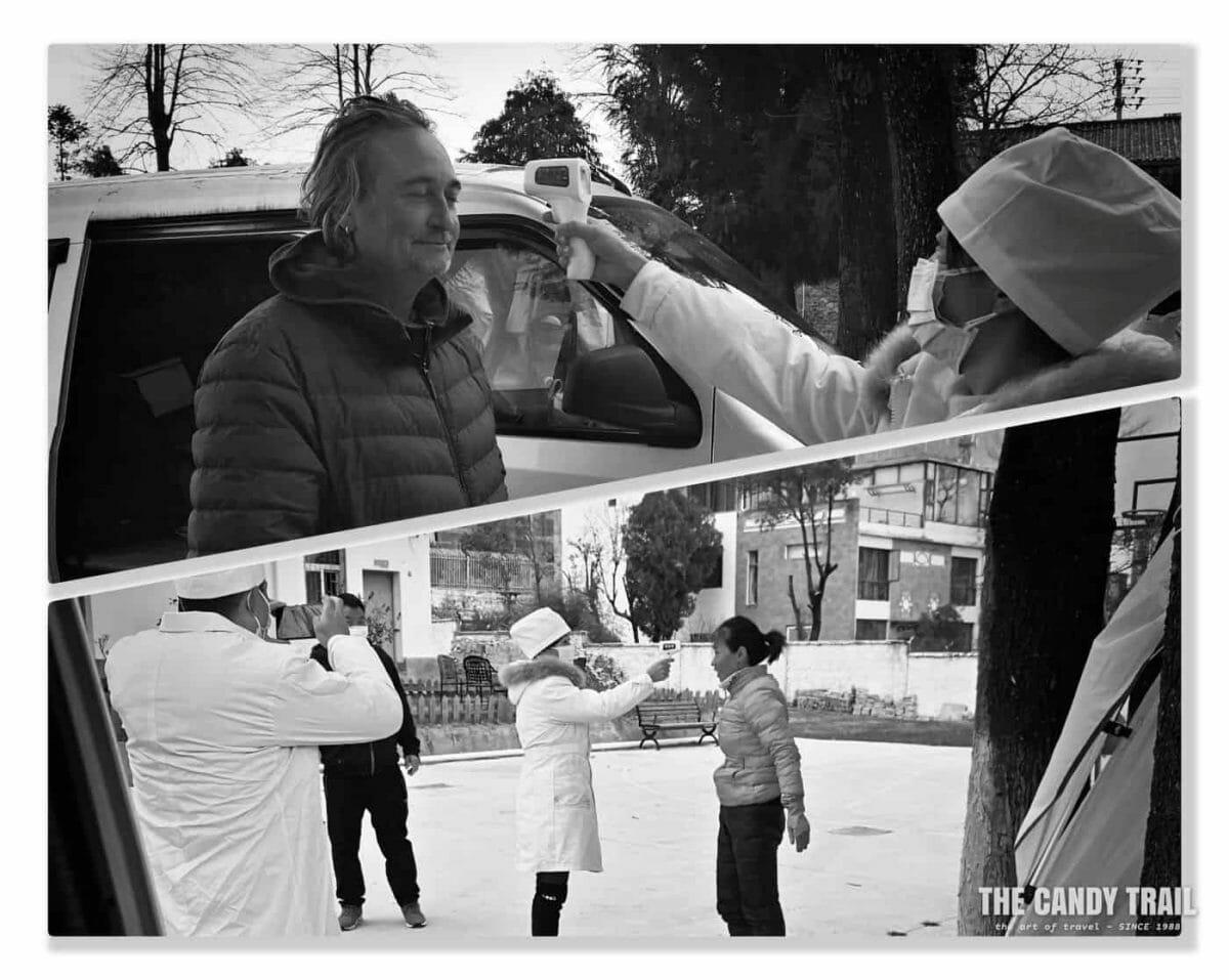 temperature checks coronavirus china