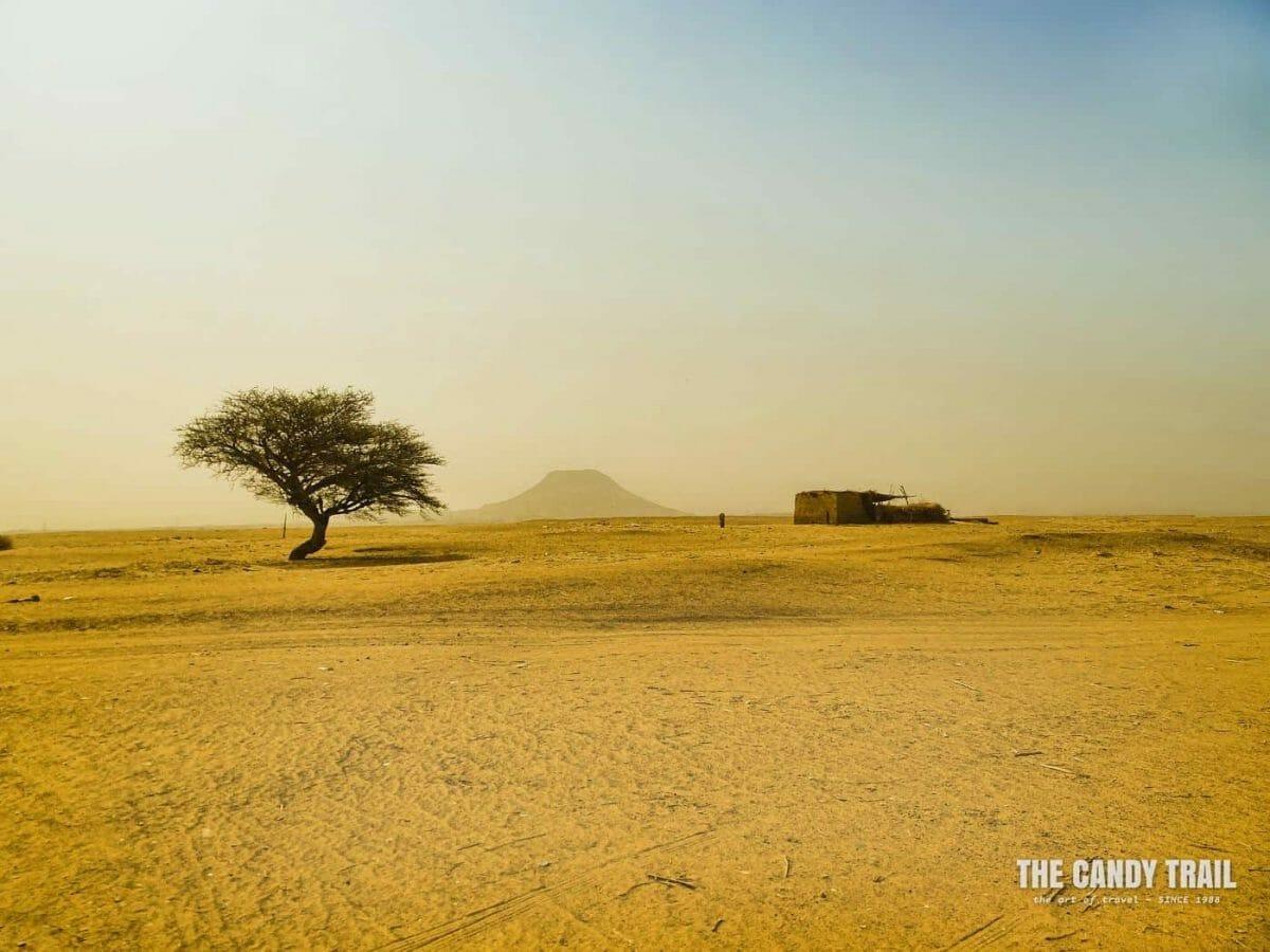 backpacking sudan across the sahara desert