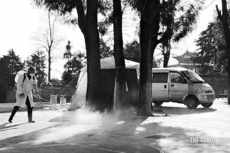 van-camping-quarantine-corona-virus-dali-china