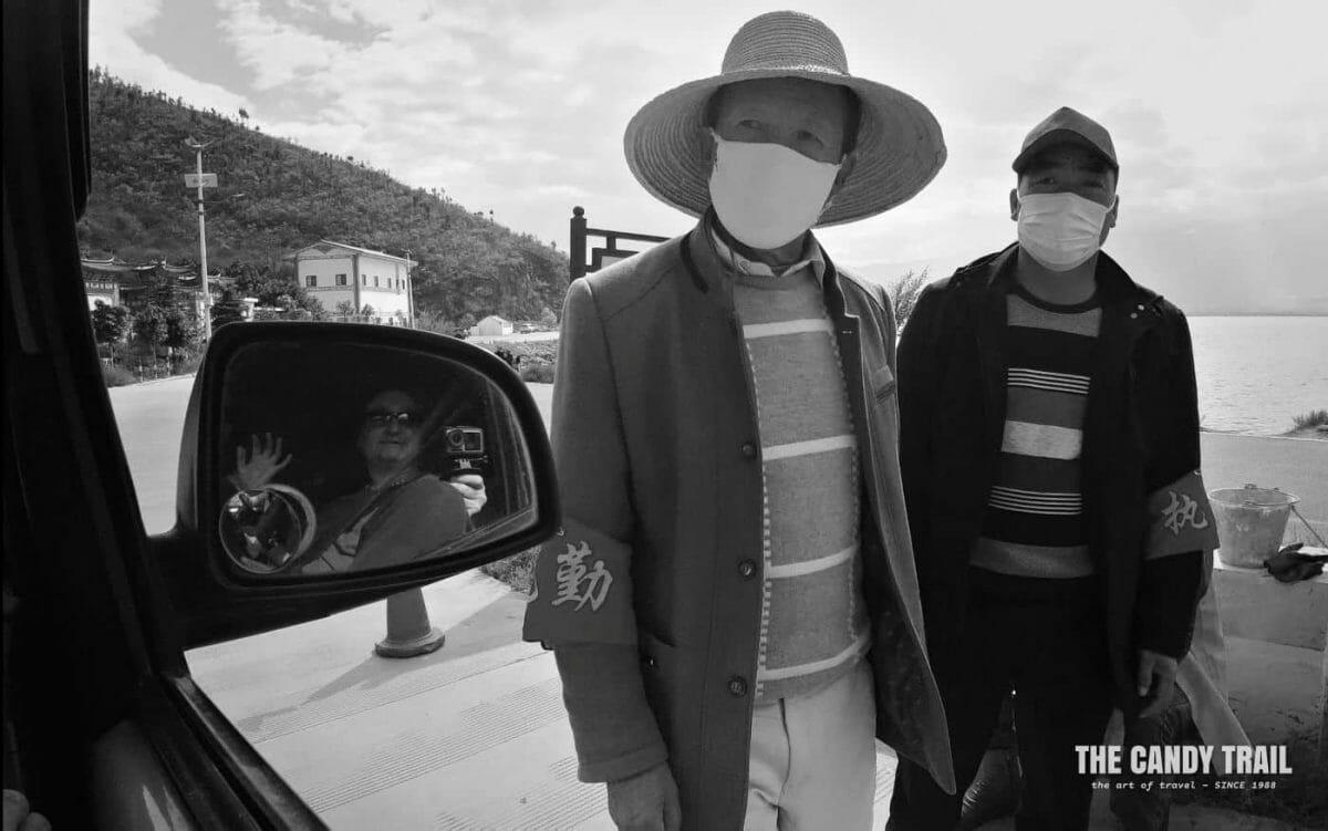 village roadblock coronavirus china