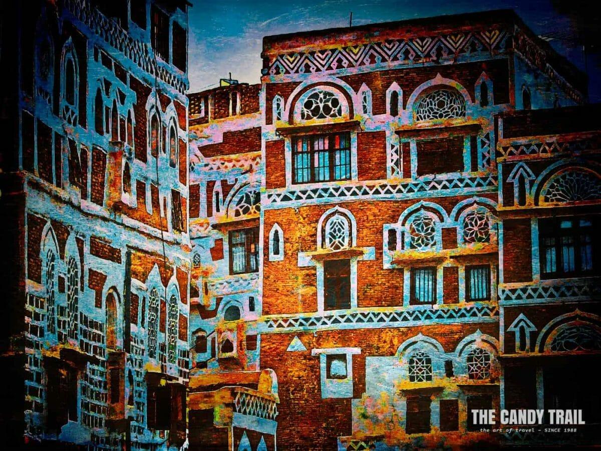 Traditional houses of old Sanaa