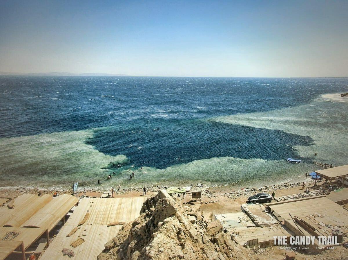 snorkeling blue hole dahab egypt