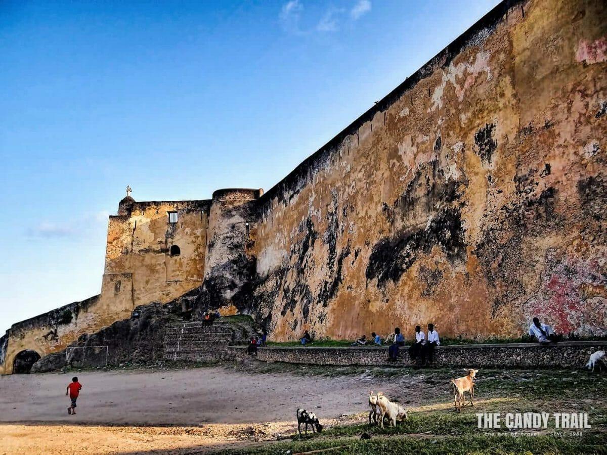 Fort Jesus Mombasa island kenya