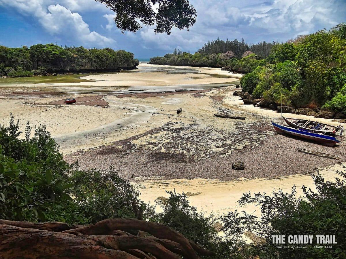 Takaungu island swahili coast of coast kenya