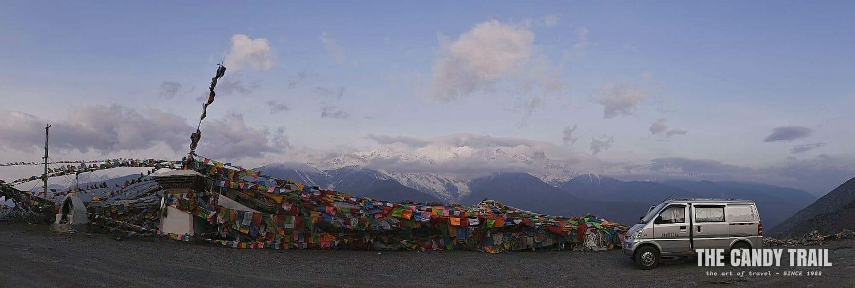 van life china meili snow mountain vista yunnan china