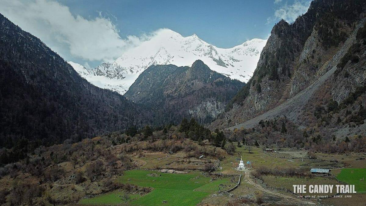 Hiking to Yubeng Tibetan Village in Yunnan china
