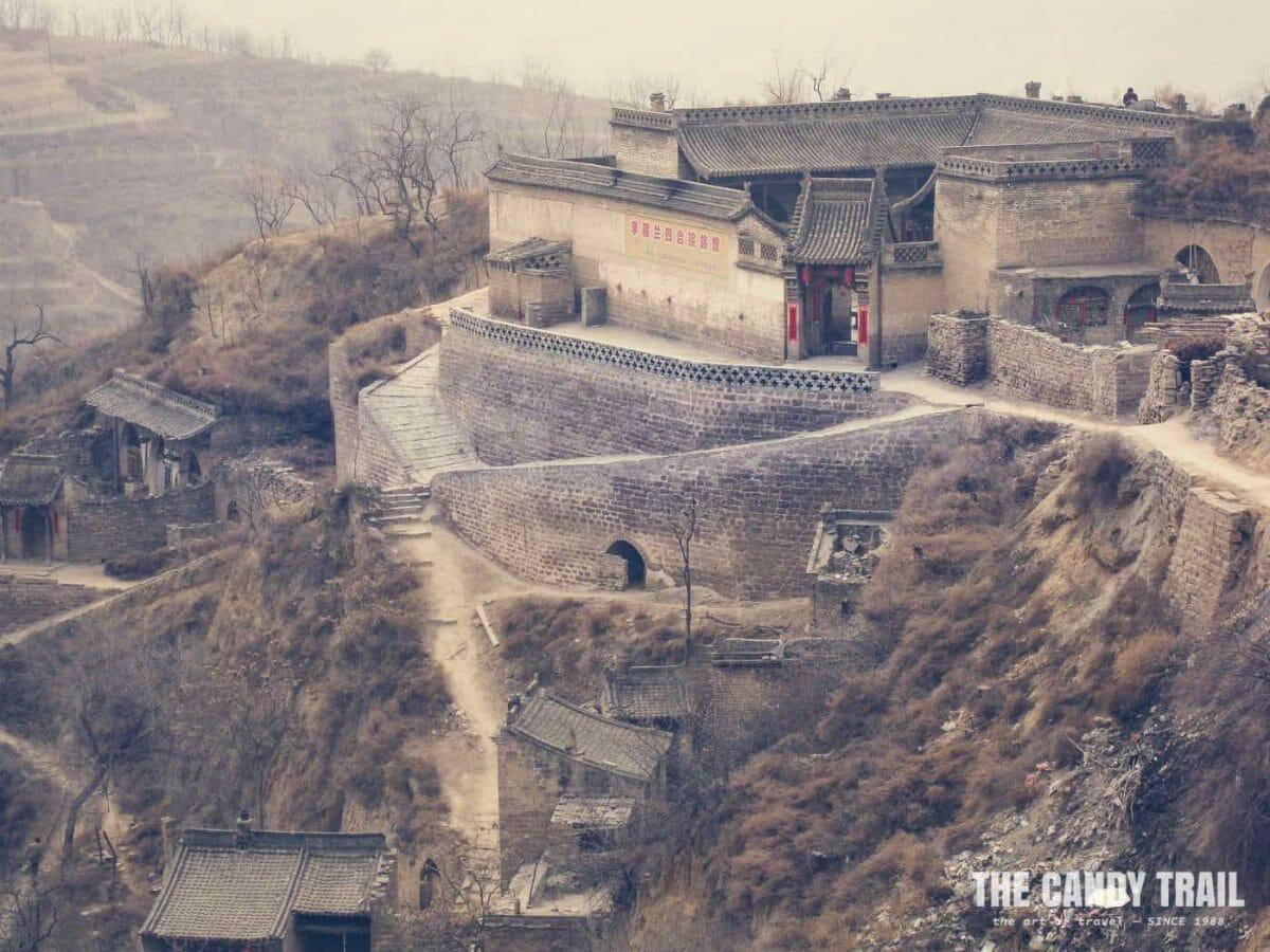 cave houses lijiashan village china