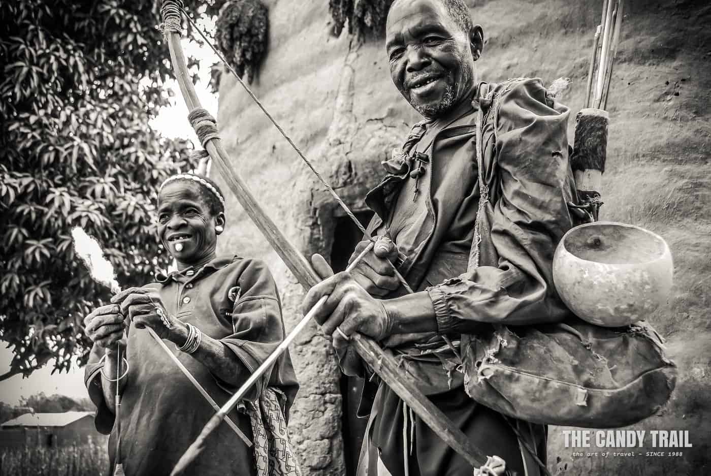 hunter-with-bow-arrow-tamberma-valley-togo