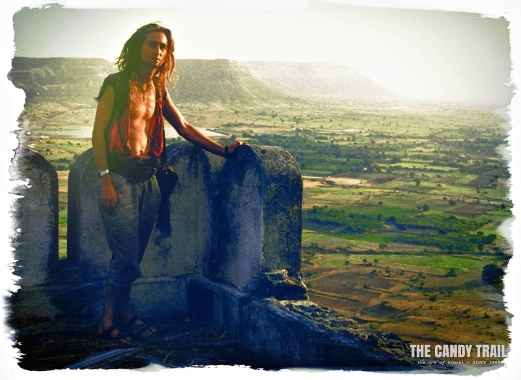 Michael Robert Powell long term traveler in India 1990