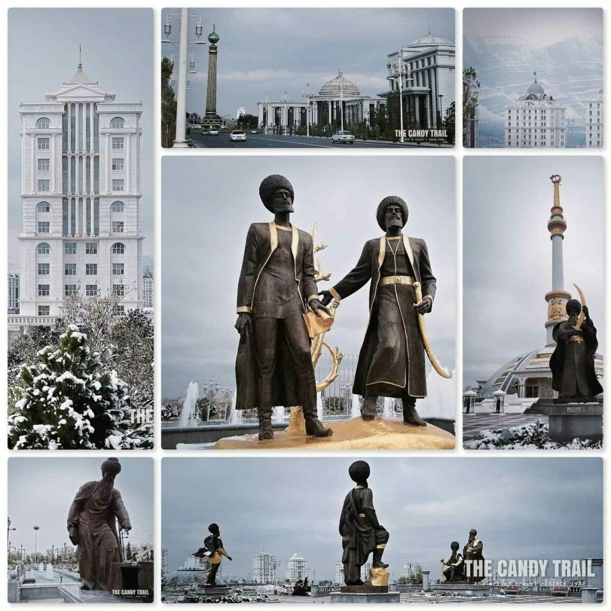 ashgabat - capital of turkmenistan
