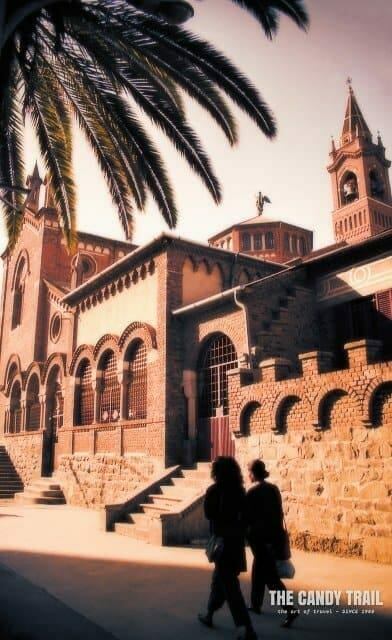 Church of Our Lady of the Rosary in the capital Asmara in Eritrea.